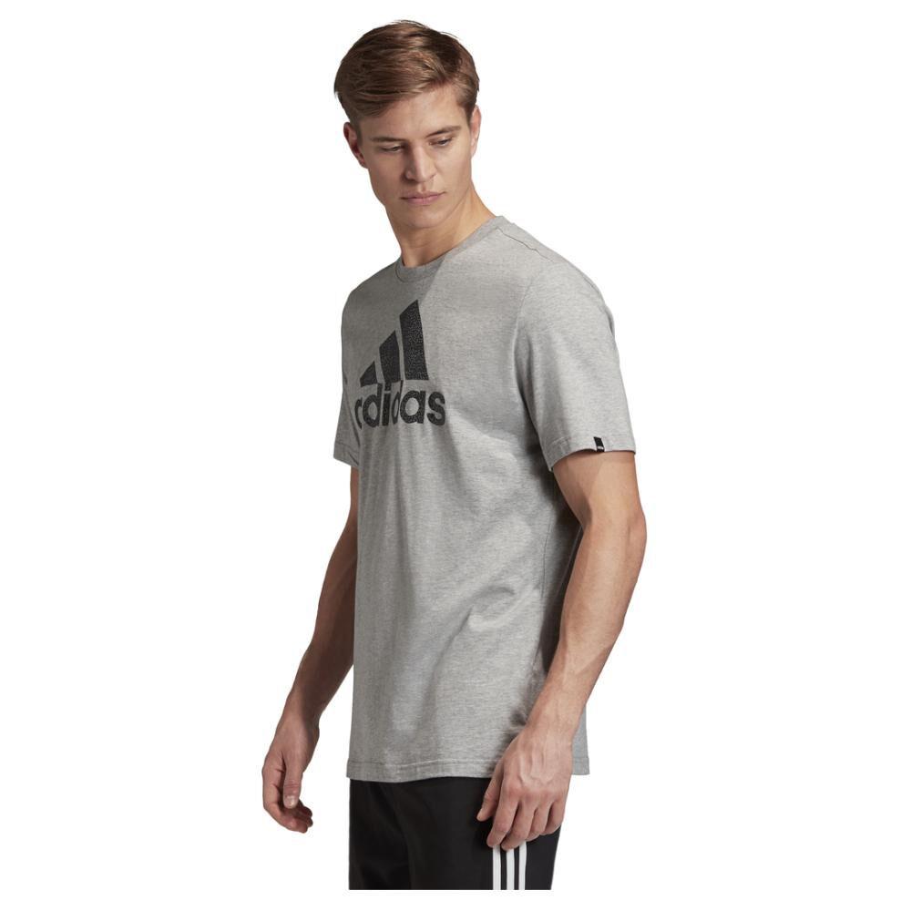 Camiseta Con Logo Texturizado Unisex Adidas image number 1.0
