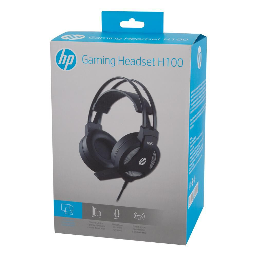 Audifonos Gamer Hp H100 image number 2.0