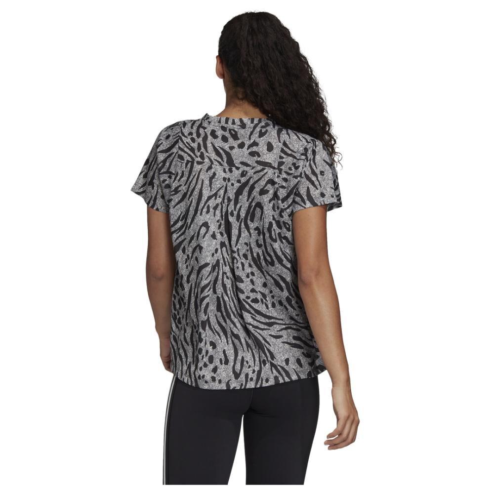 Camiseta Mujer Adidas Allover Print image number 3.0