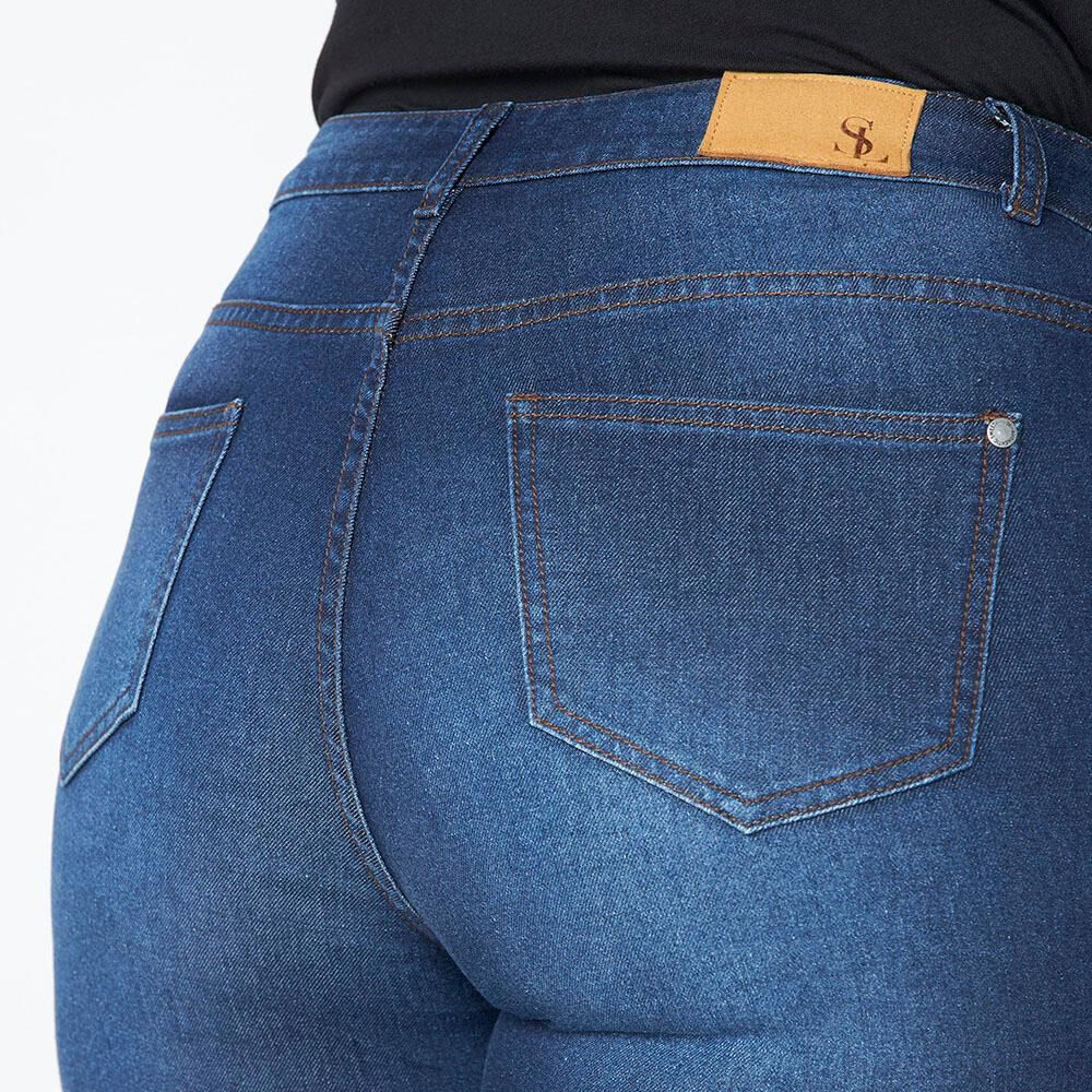 Jeans Tachas Mujer Sexy Large image number 3.0
