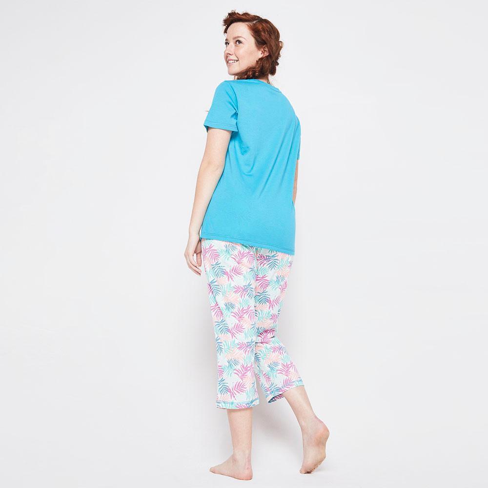 Pijama Capri Algodón Mujer Freedom image number 2.0