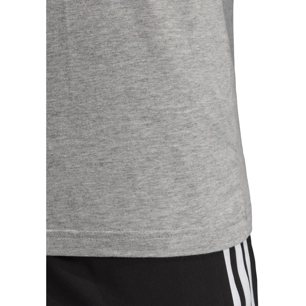 Camiseta Con Logo Texturizado Unisex Adidas image number 5.0