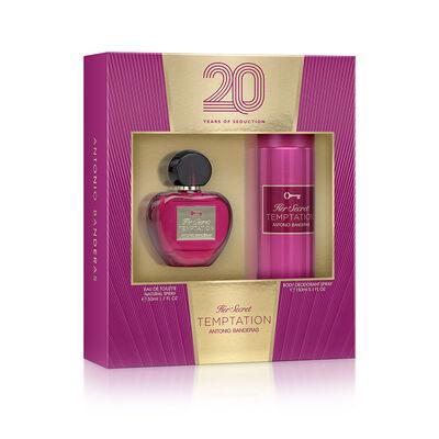 Perfume Antonio Banderas Temptation / 50 Ml + 150 Ml