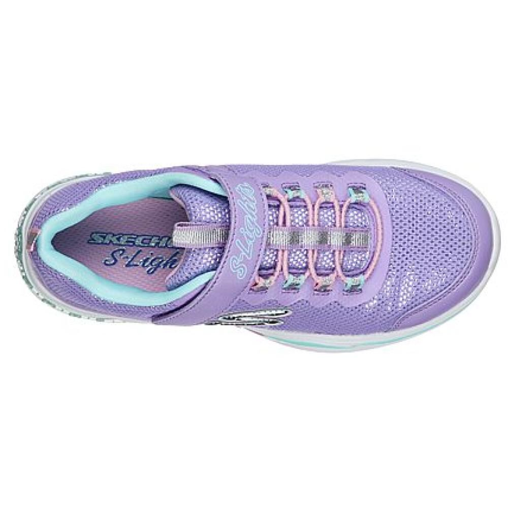 Zapatilla Niña Skechers Power Petals image number 4.0