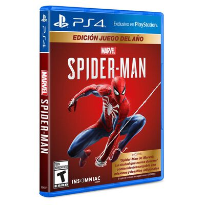 Juego Ps4 Marvels Spiderman