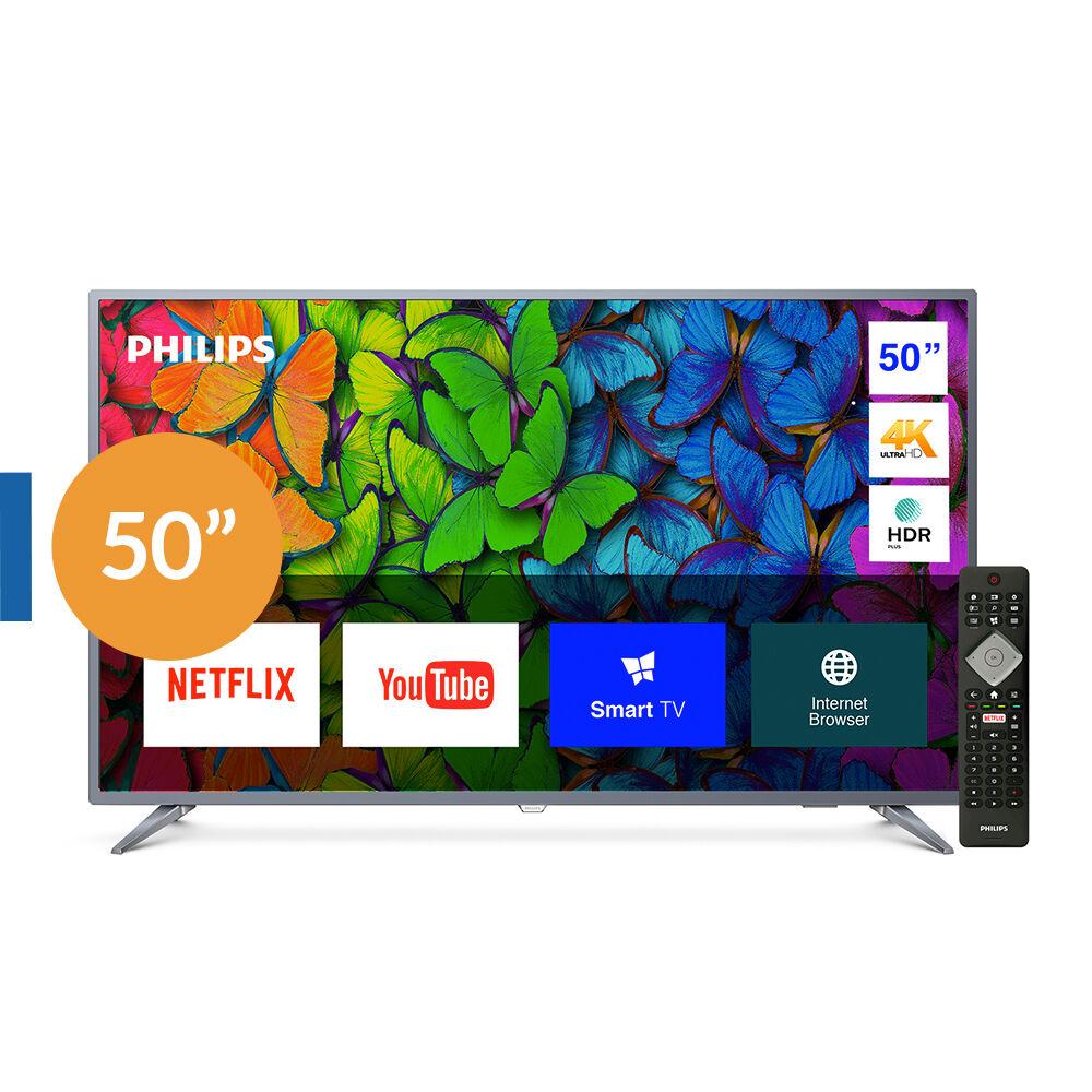 """Led Philips 50PUD6513 / 50"""" / Ultra Hd / 4K / Smart Tv image number 0.0"""