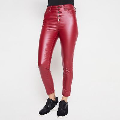 Pantalón Mujer Tiro Alto Super Skinny Rolly Go