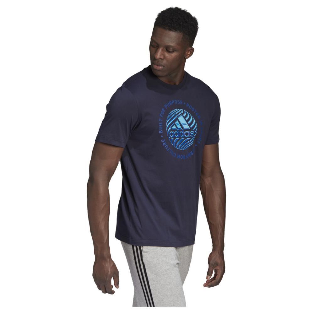 Polera Hombre Adidas M Hyperreal Circled image number 4.0