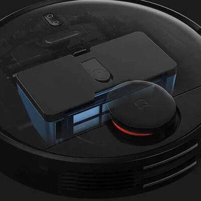 Aspiradora Xiaomi Mi Robot Vacuum-mop P Negra / 200ml De Agua Y 600 Ml De Polvo