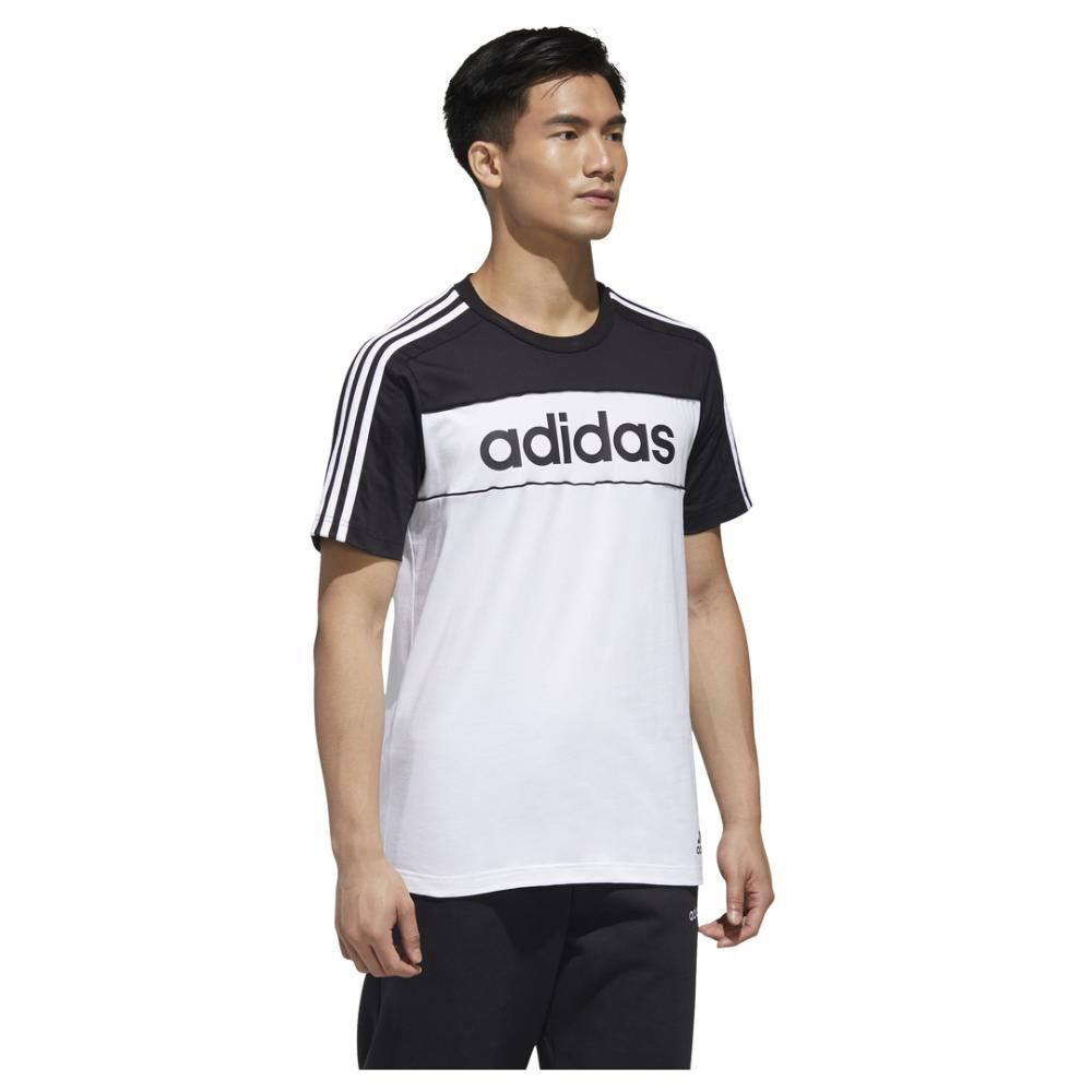 Polera Hombre Adidas Mens Essentials Tape T-shirt image number 3.0