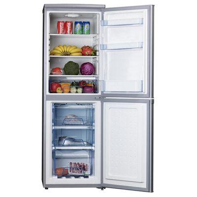 Refrigerador Midea Combi Mrfi-1800S234Rn Silver / Frío Directo / 180 Litros