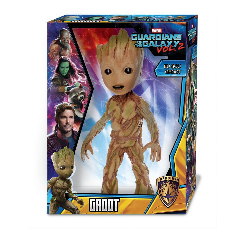 Figura De Acción Mimo Toys Groot image number 0.0