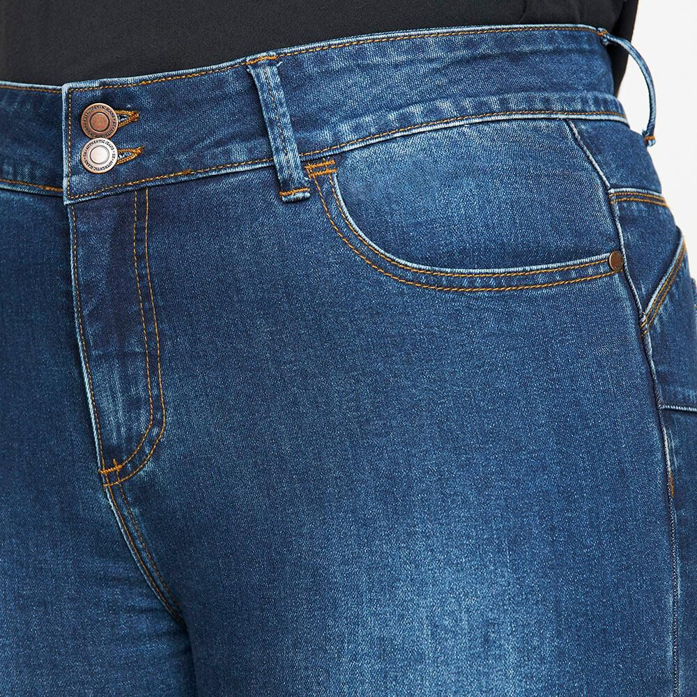 Jeans Jogger Tiro Medio Skinny Mujer Sexy Large image number 3.0