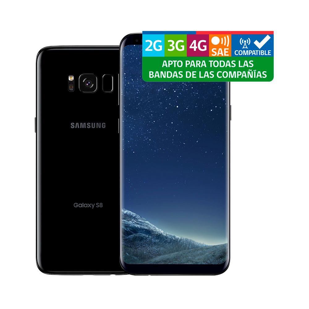 Smartphone Samsung Galaxy S8 Reacondicionado Negro / 64 Gb / Liberado image number 2.0