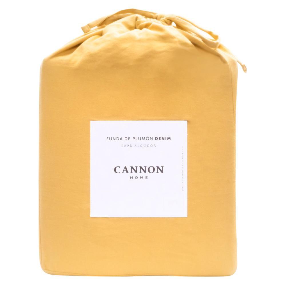 Funda Plumón Cannon Denim Mustard / King image number 4.0