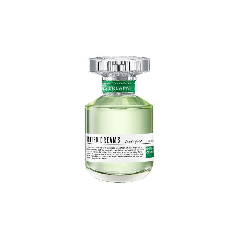Perfume Live Free + Desodorante Benetton / 50 Ml / 150ml / Eau De Toillete image number 1.0
