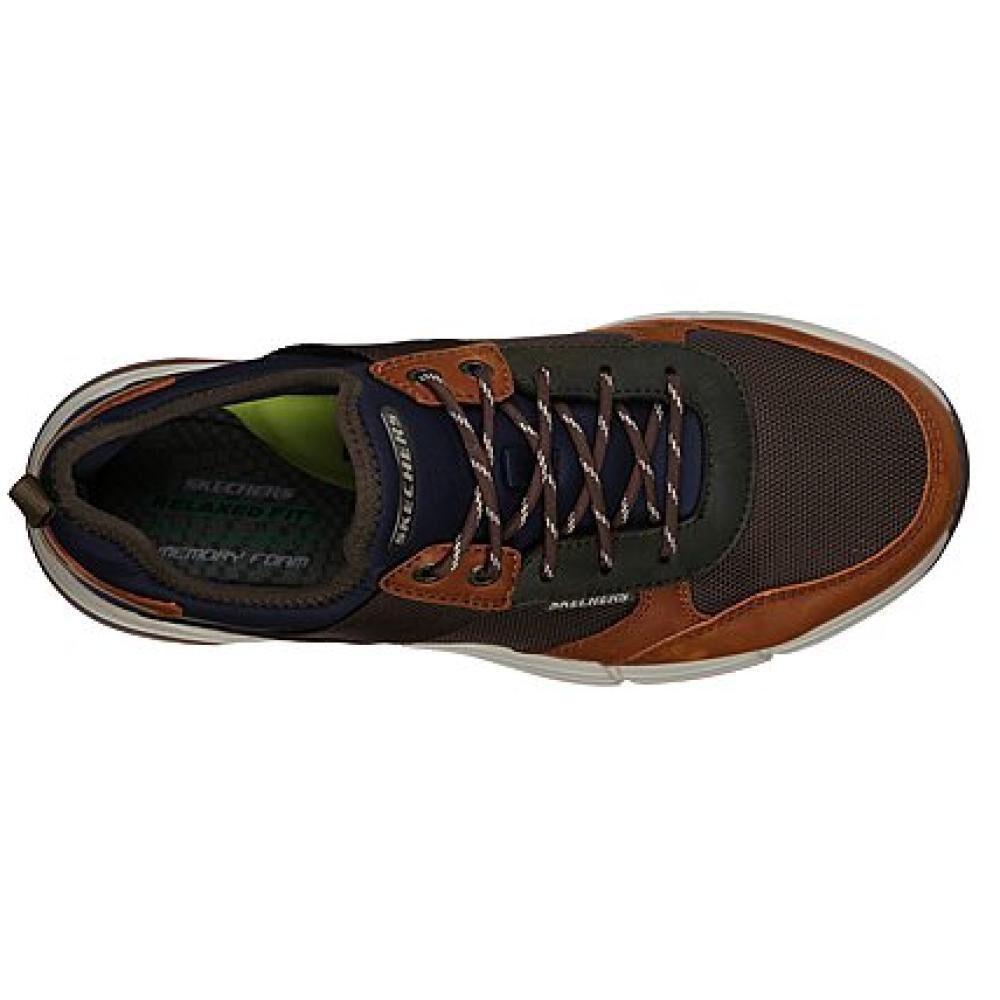 Zapato Casual Hombre Skechers Metco-parken image number 4.0