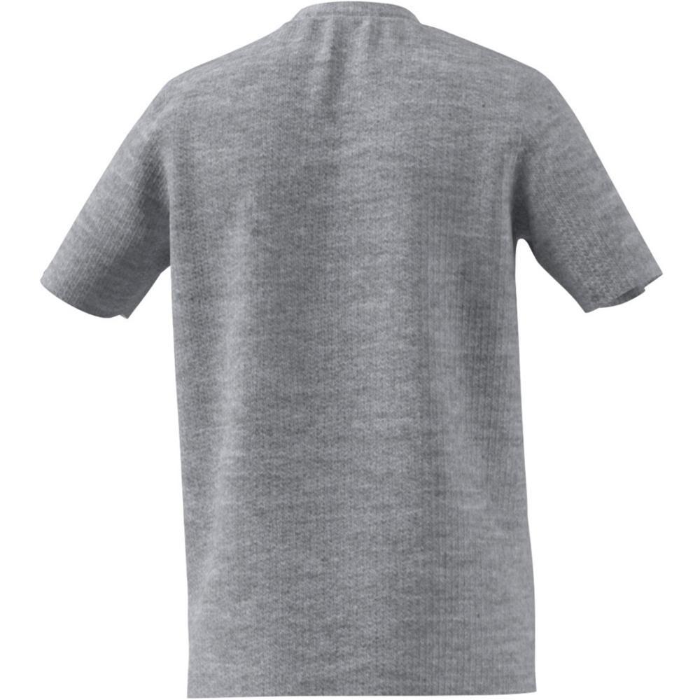Camiseta Con Logo Texturizado Unisex Adidas image number 8.0