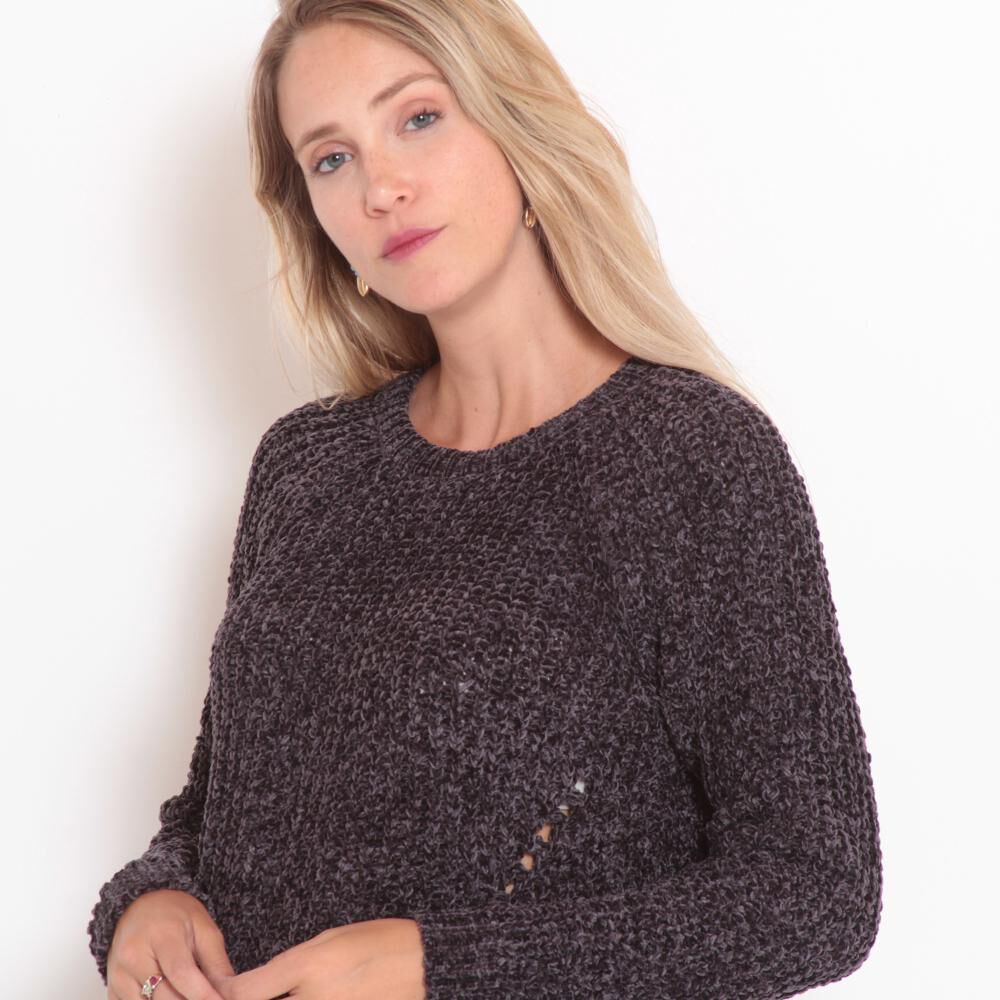 Sweater Tejido Cuello V Mujer Wados image number 1.0