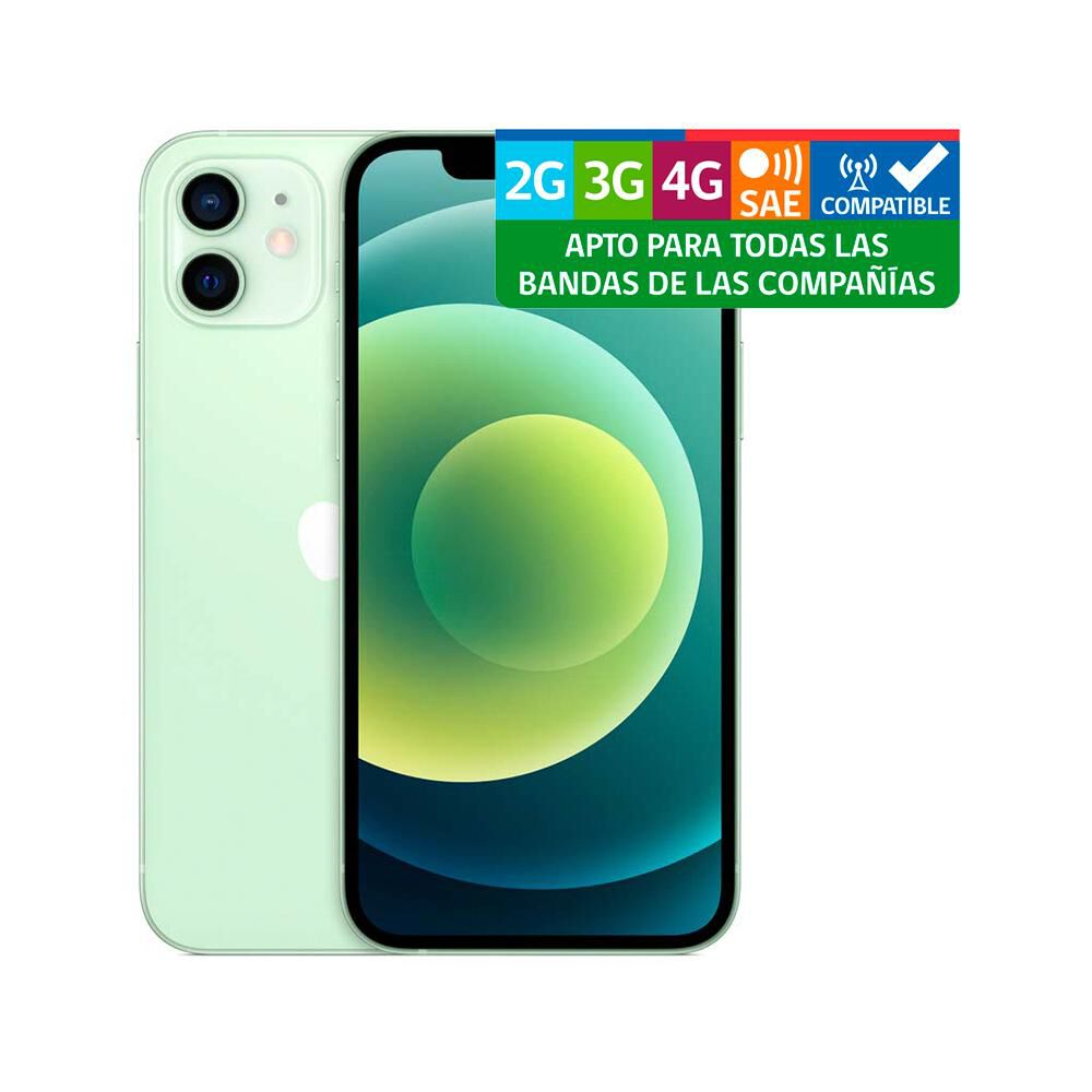 Smartphone Apple Iphone 12 Reacondicionado Verde / 64 Gb / Liberado image number 2.0
