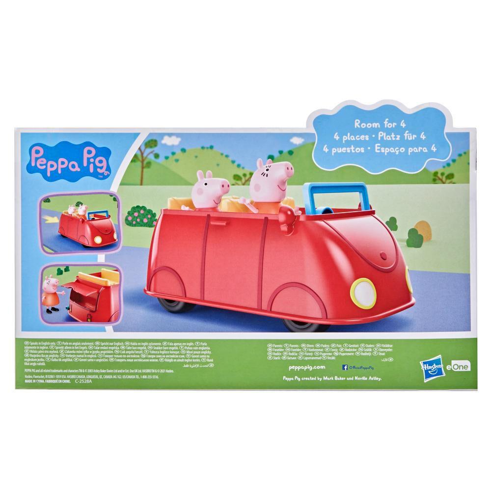 Figura De Acción Peppa Pig Auto Rojo Familiar image number 5.0