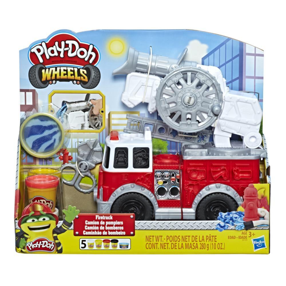 E6103 Play-Doh Camión De Bomberos image number 0.0