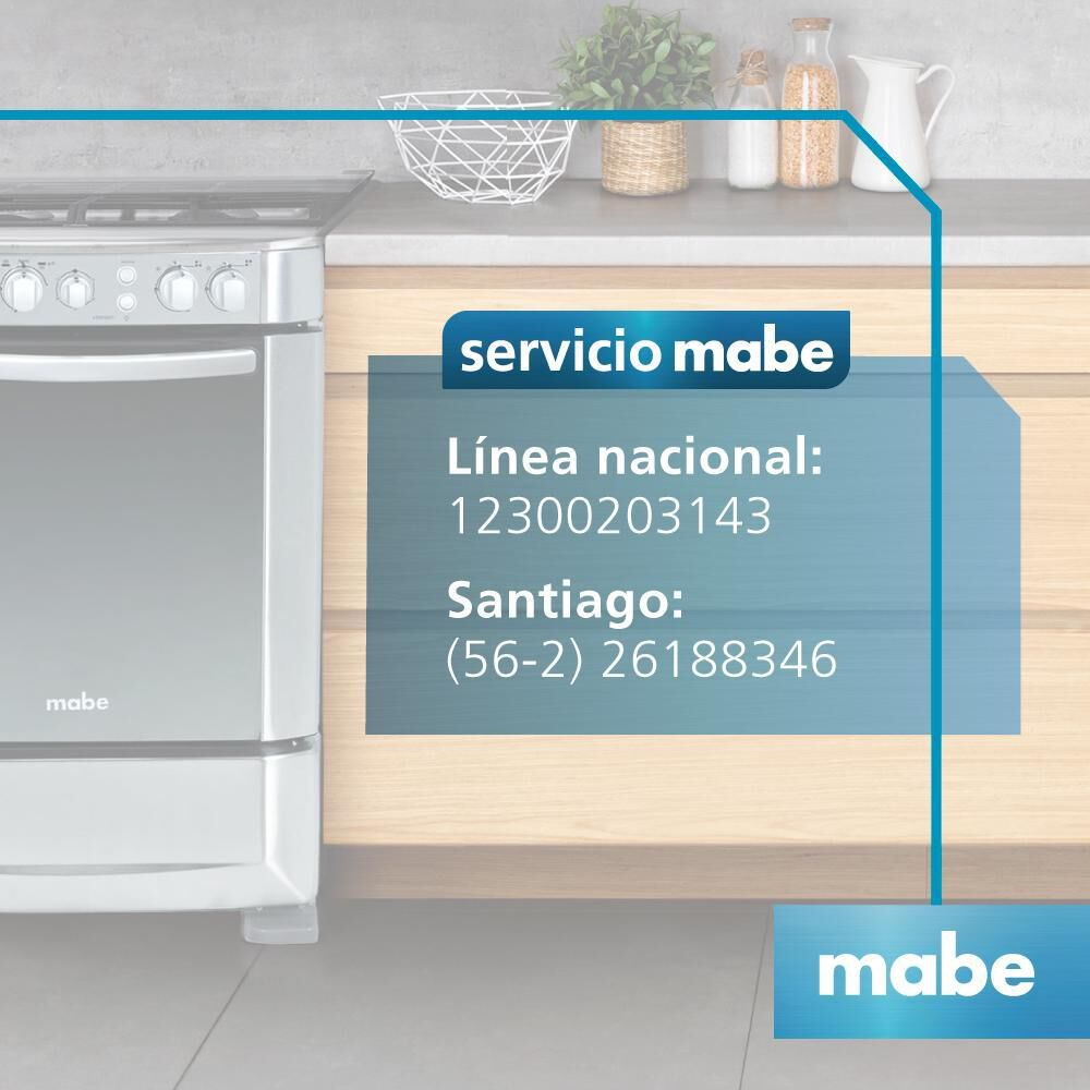 Cocina Mabe ANDES60TX4 / 4 Quemadores image number 6.0