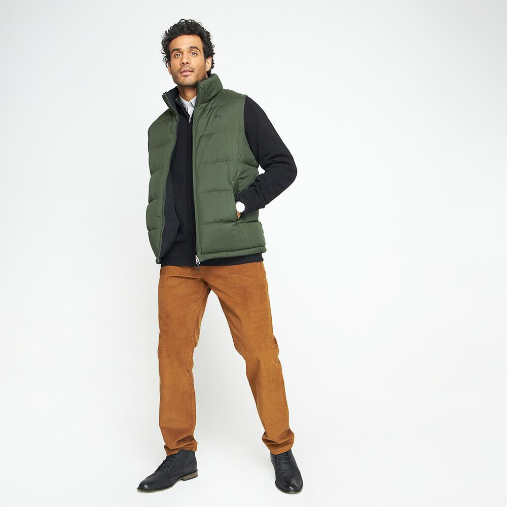 Parka Sin Mangas Reversible Hombre Peroe image number 1.0
