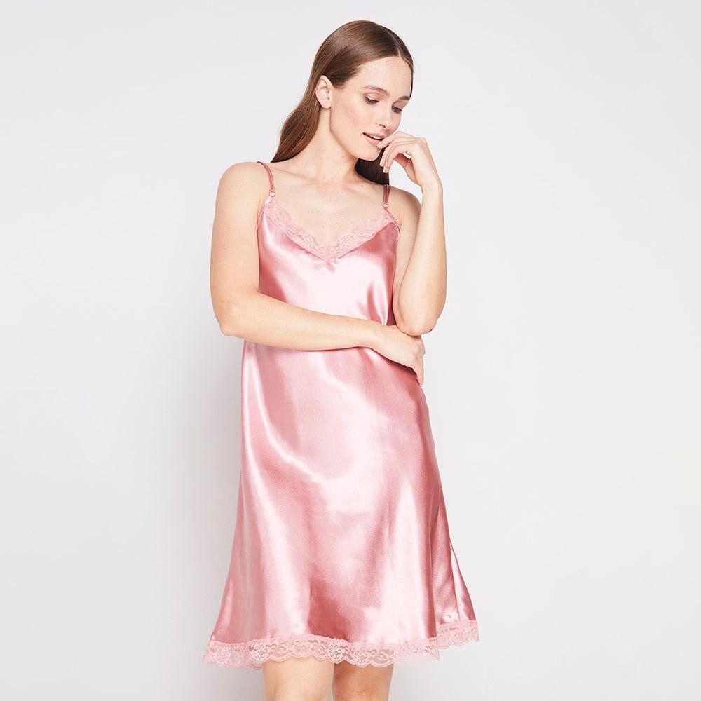 Pijama Satin Lisa Mujer Geeps image number 0.0