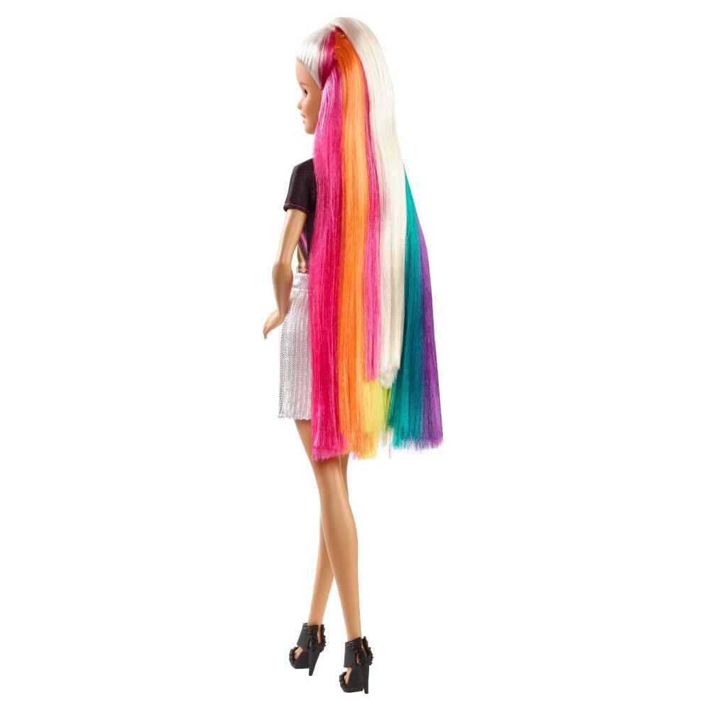 Muñeca Barbie Peinados De Arcoíris image number 3.0