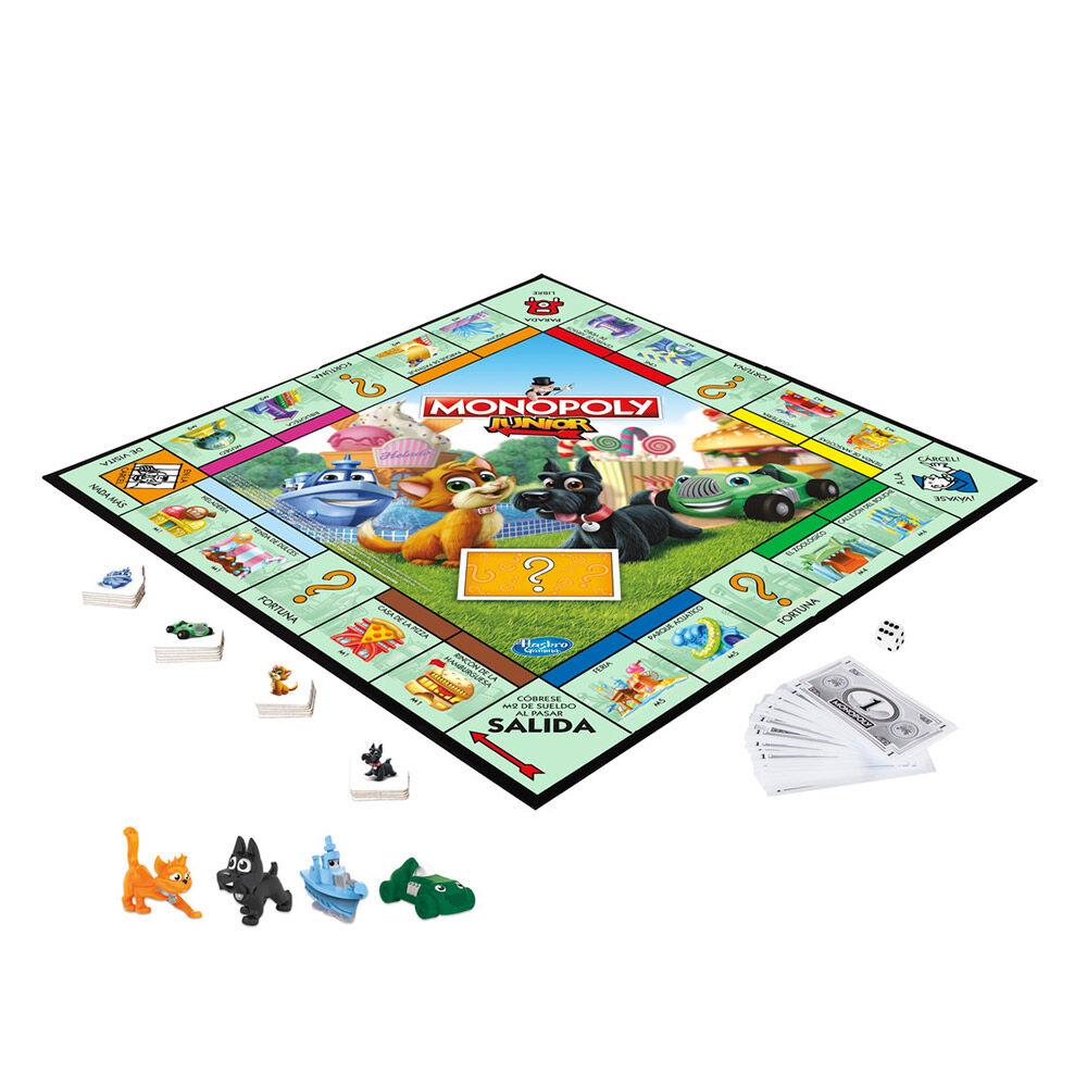 Juego De Mesa Monopoly Junior image number 1.0