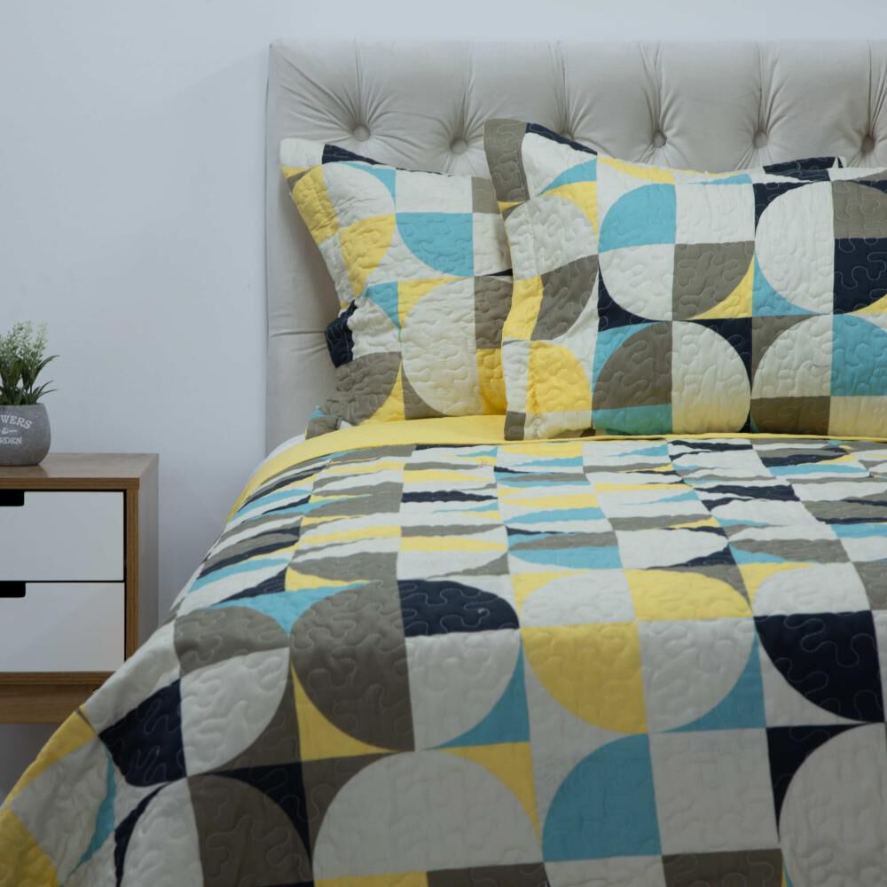 Quilt Azhome Circulo 2p / 2 Plazas image number 0.0