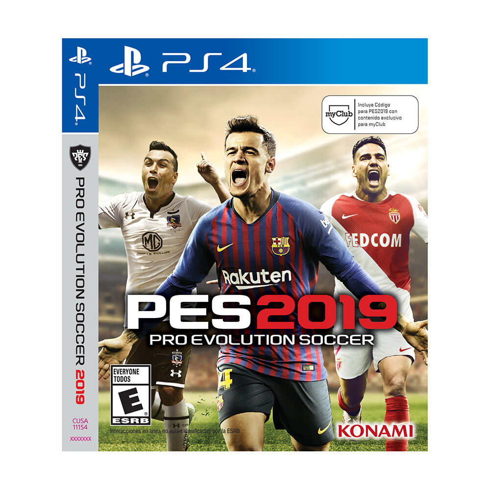 Juego Ps4 Pro Evolution Soccer 2019 image number 0.0