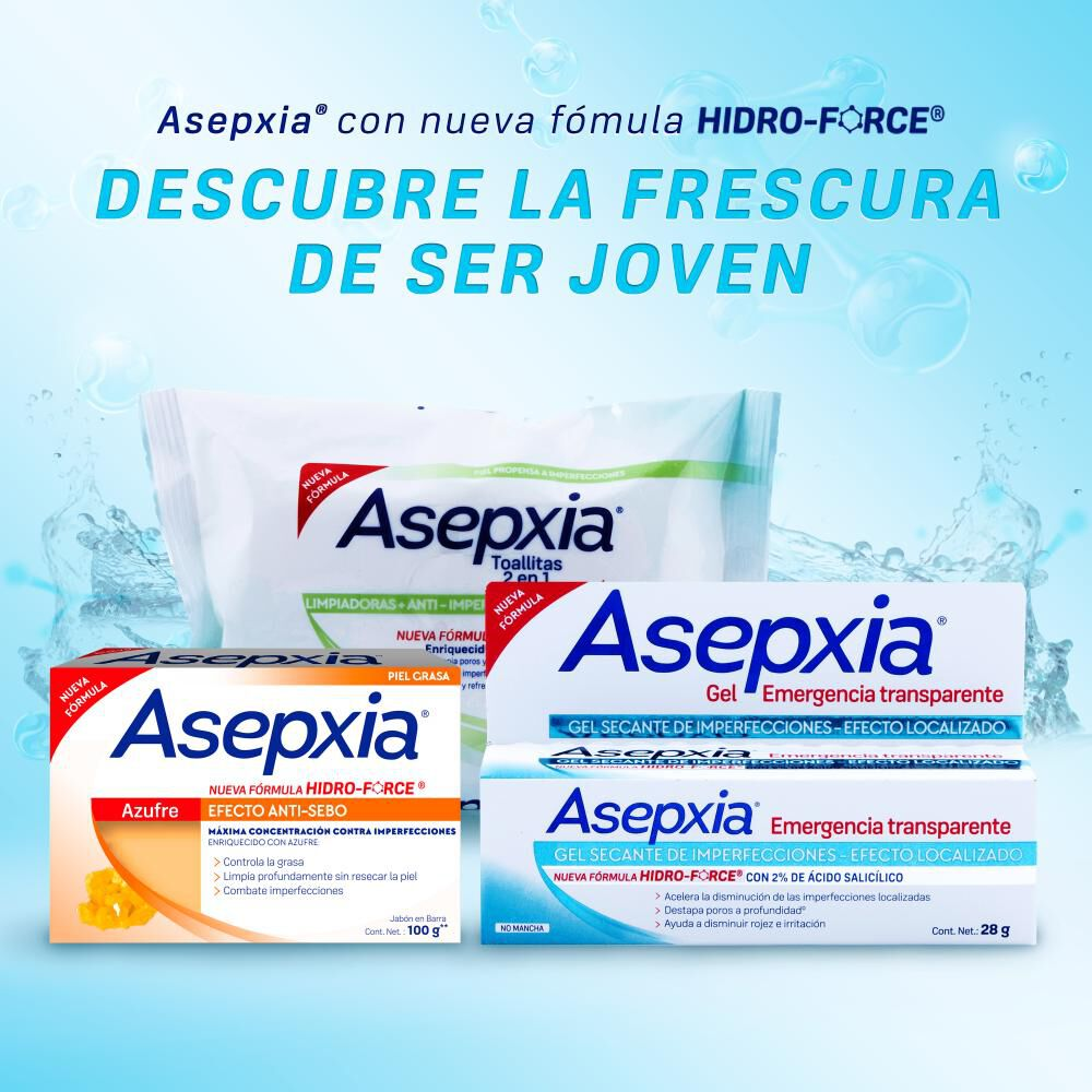 Jabón Asepxia / 100 Gr image number 5.0