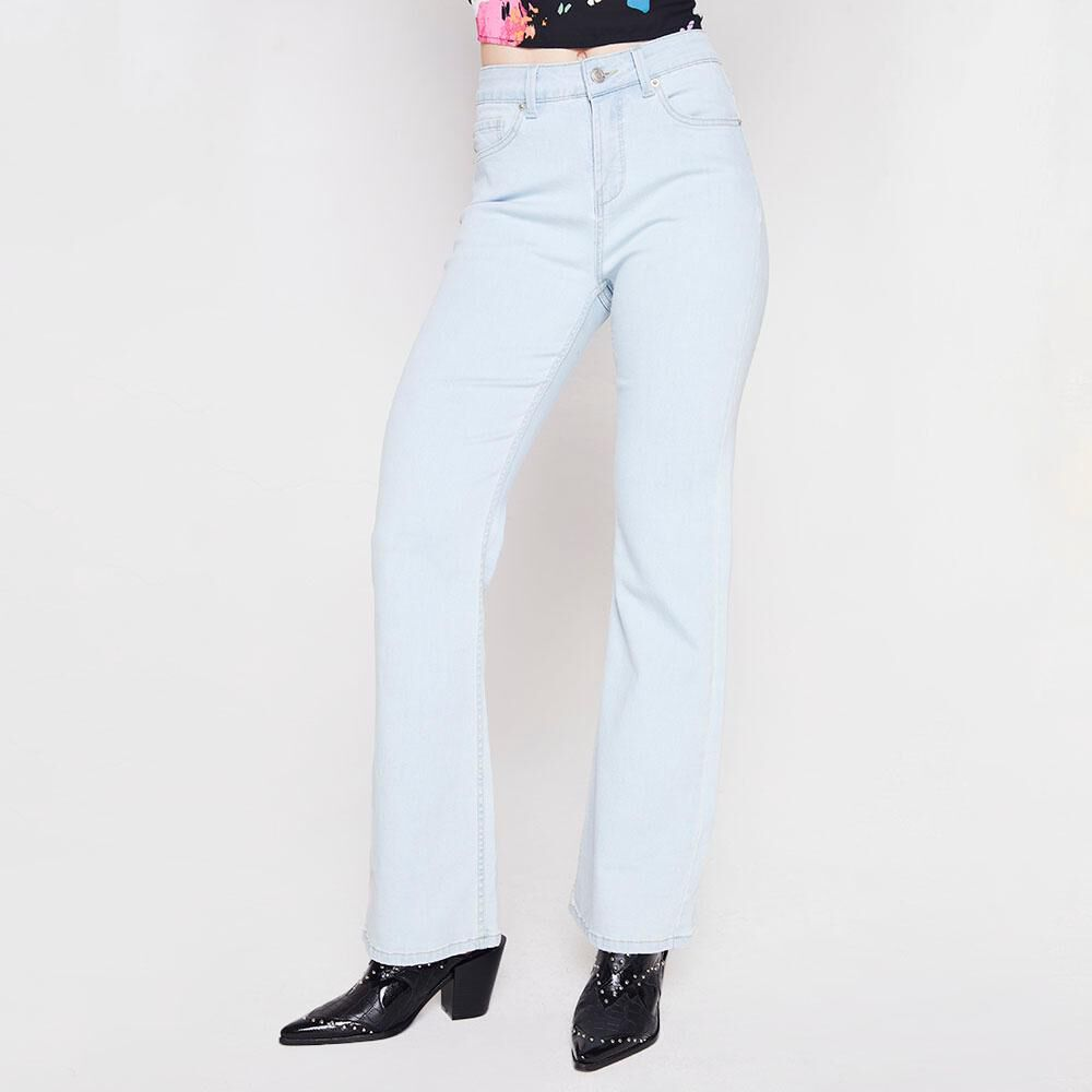 Jeans Flare Mujer Kimera image number 0.0
