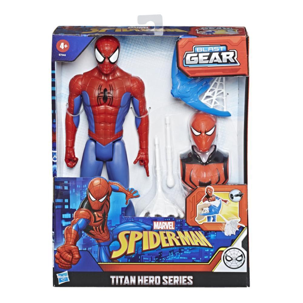 Figura De Accion Spiderman Titan Hero Blast Gear Spiderman image number 1.0