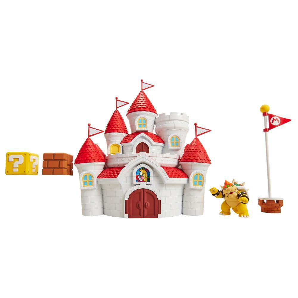 Figura Coleccionable Nintendo Playset Musheoom Kingdom Castillo image number 2.0