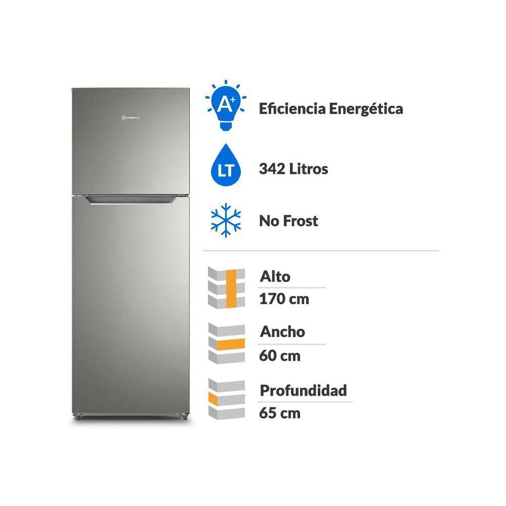 Refrigerador Top Freezer Mademsa ALTUS 1350 / No Frost / 342 Litros image number 1.0