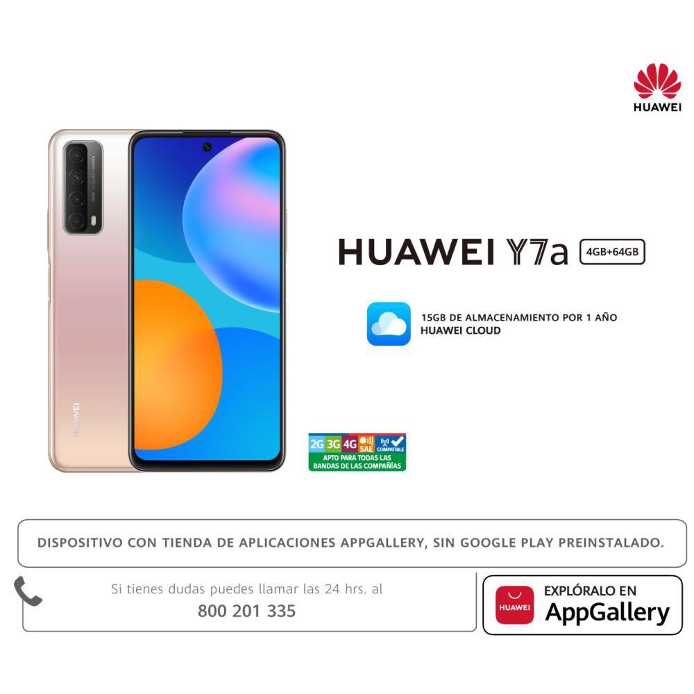 Smartphone Huawei Y7a 64 Gb Dorado / Liberado image number 8.0