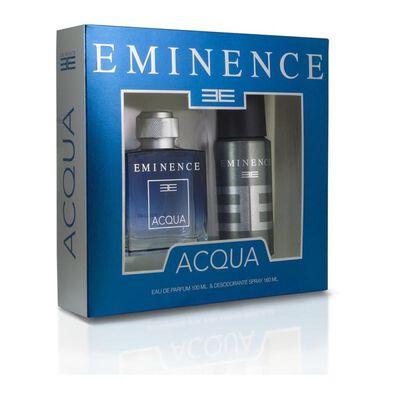 Estuche Eminence Acqua 100ml Edp + Desodorante Spray 160ml Eminence / 100 Ml / Edp
