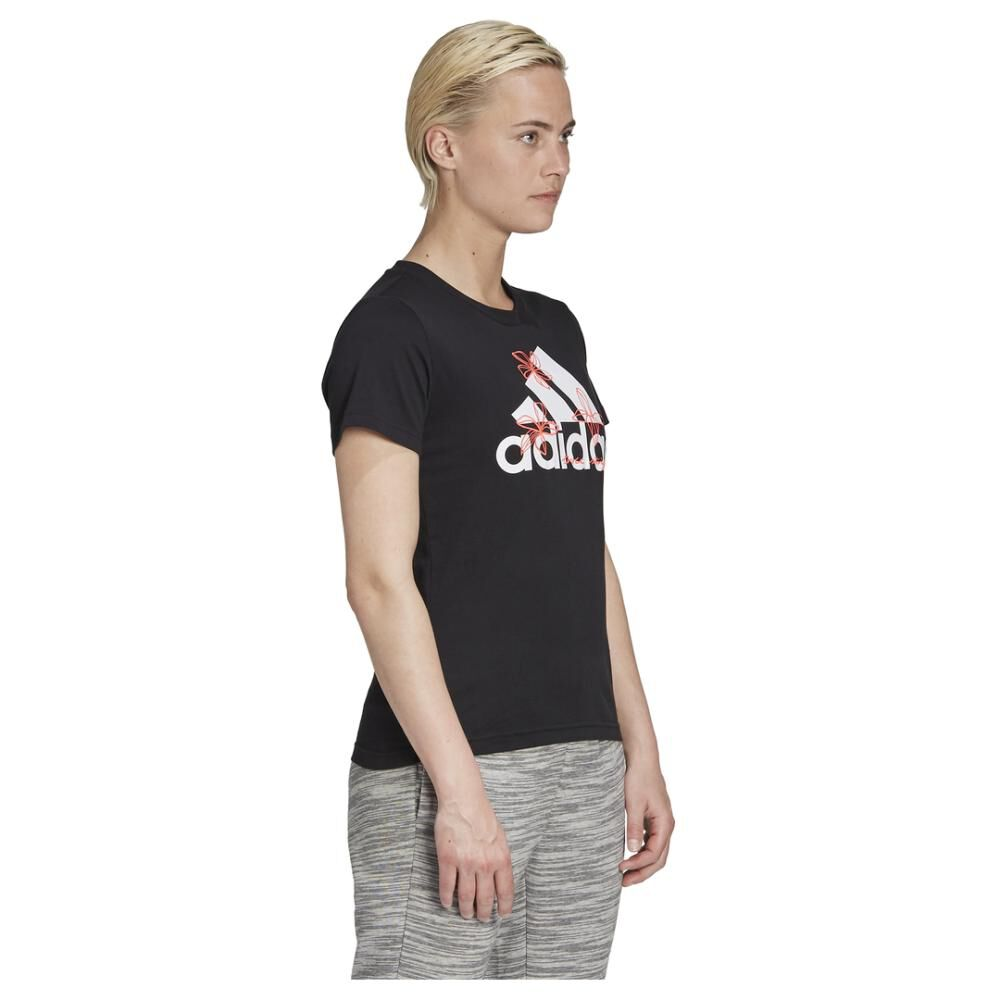Polera Mujer Adidas Womens Floral Graphic image number 2.0