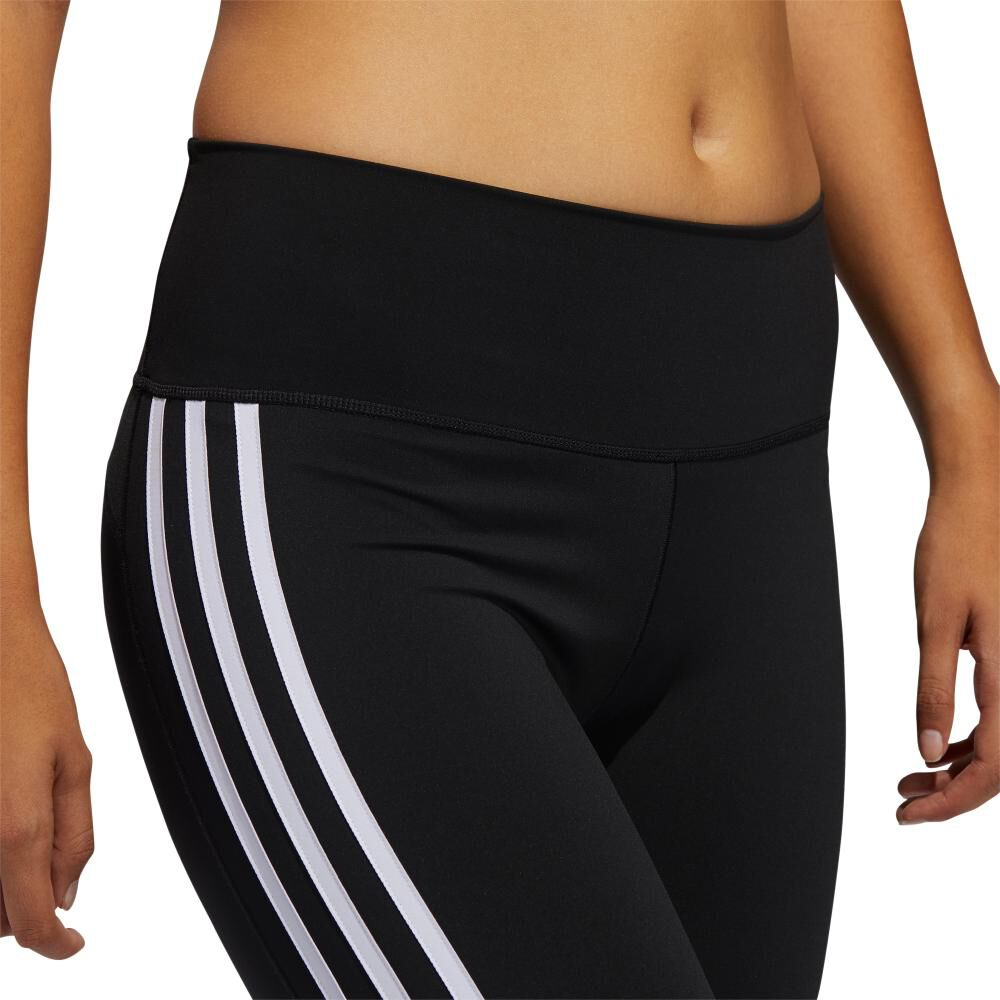 Calza Mujer Adidas Believe This 2.0 3 Stripe 7/8 Tight image number 6.0