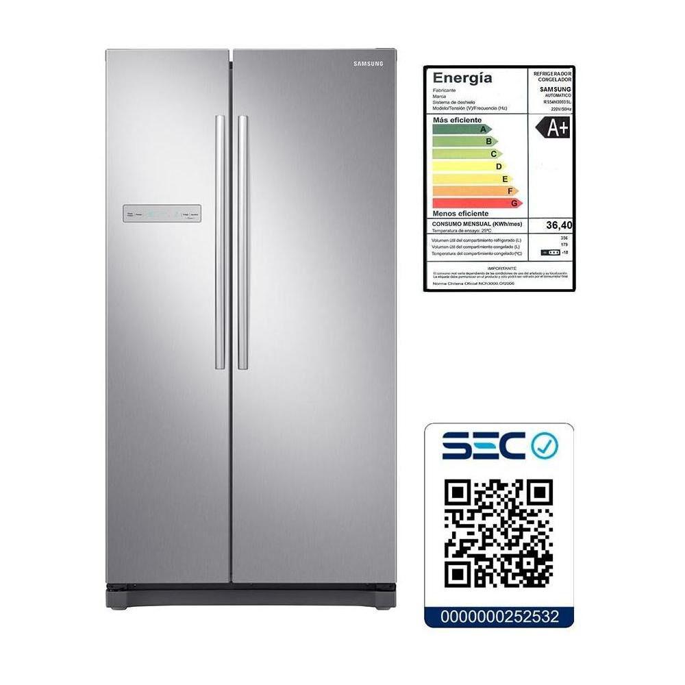 Refrigerador Side By Side Samsung Rs54N3003Sl / No Frost / 535 Litros image number 6.0