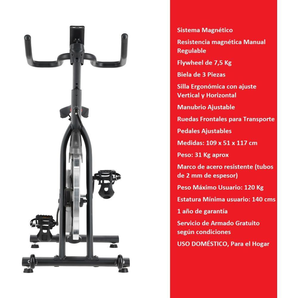 Bicicleta Spinning Magnetica Bodytrainer Spn 300 Mgntc image number 1.0