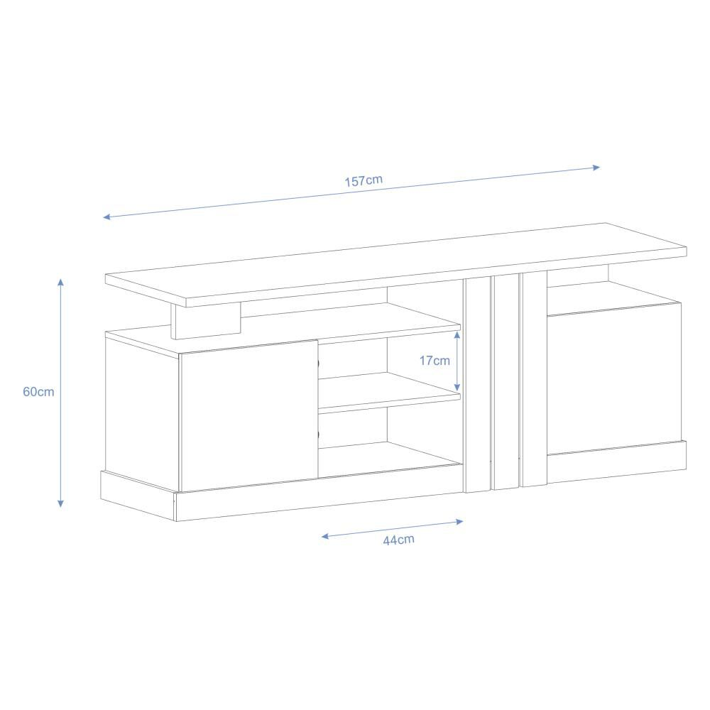Rack Jdo&Desing Cristal / 4 Compartimentos image number 4.0