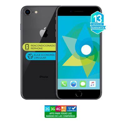 Smartphone Apple Iphone 8 Gris Reacondicionado / 256 Gb / Liberado
