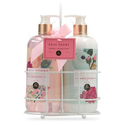 Set De Spa Geeps Secret Floral Collection - Rose Peony