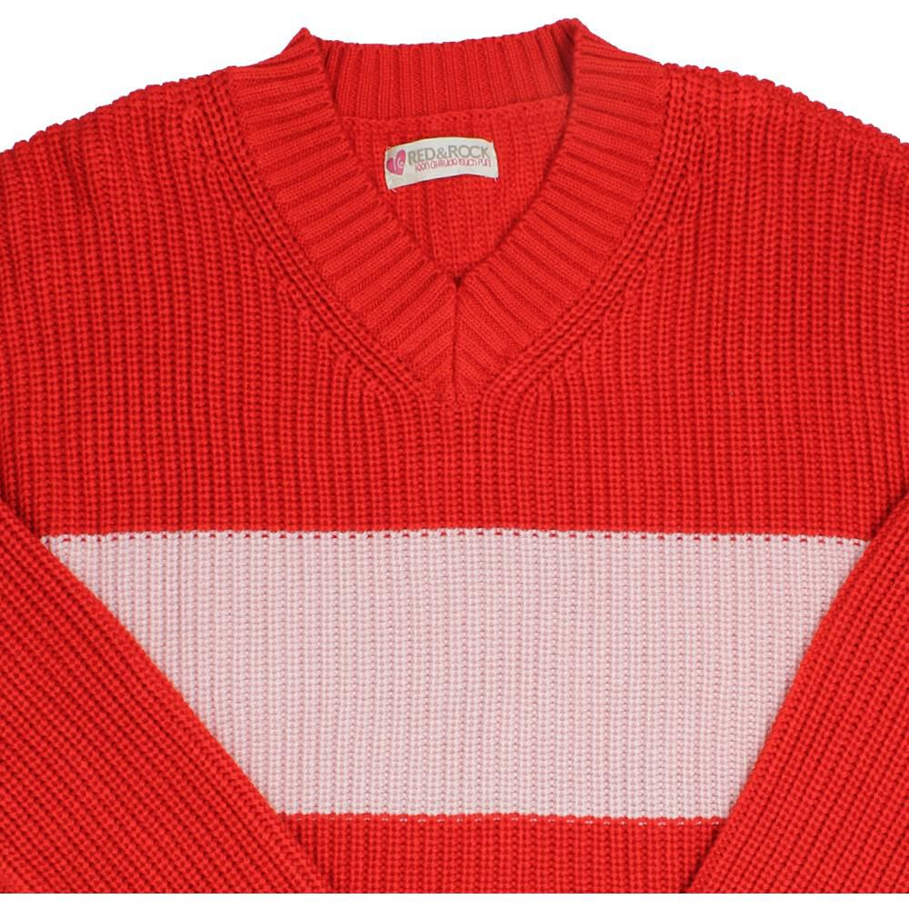 Sweater Niña Teen Red Rock image number 2.0