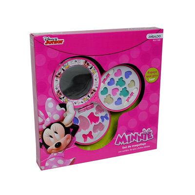 Set Circular De Maquillaje Minnie