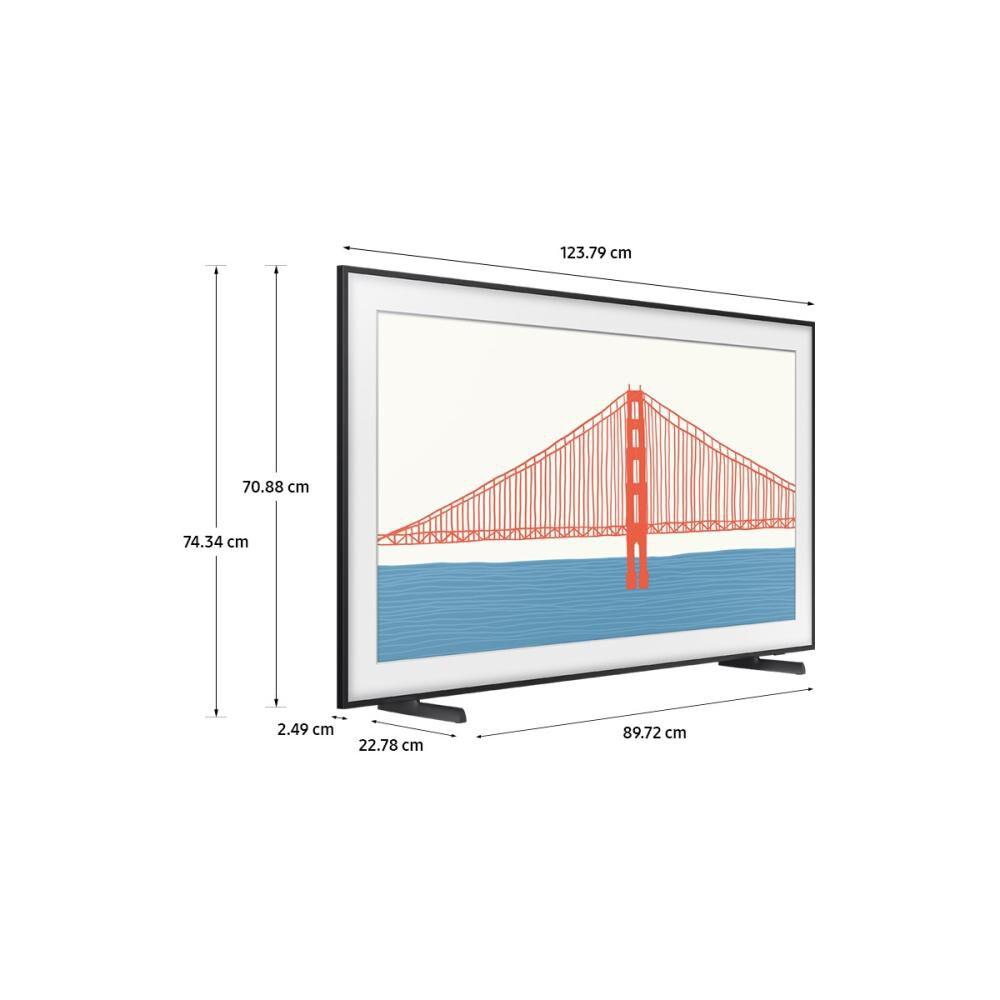 """Qled Samsung The Frame / 55 """" / Ultra Hd / 4k / Smart Tv 2021 image number 4.0"""